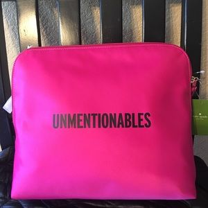 """Kate Spade """"Unmentionables"""" pouch"""